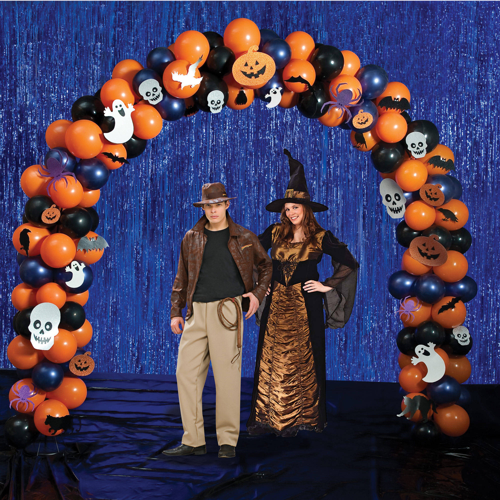 Buy Halloween Party Radiant Balloon Arch Kit for sale on okmodle.co.uk