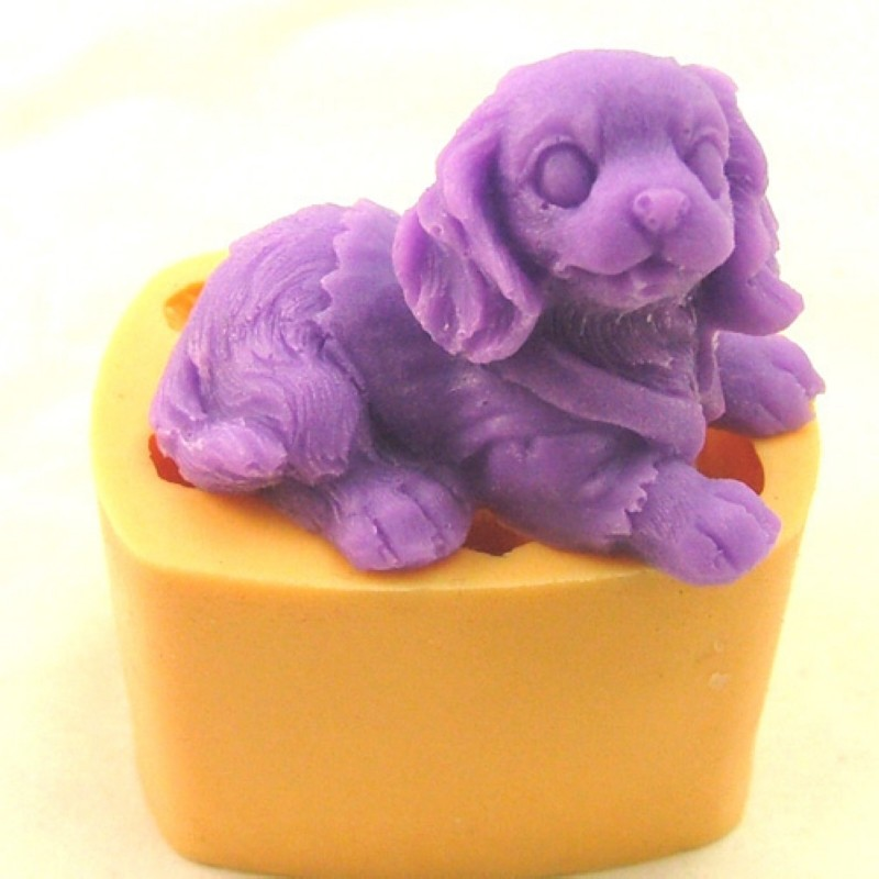 Cocker spaniel rubber latex mold