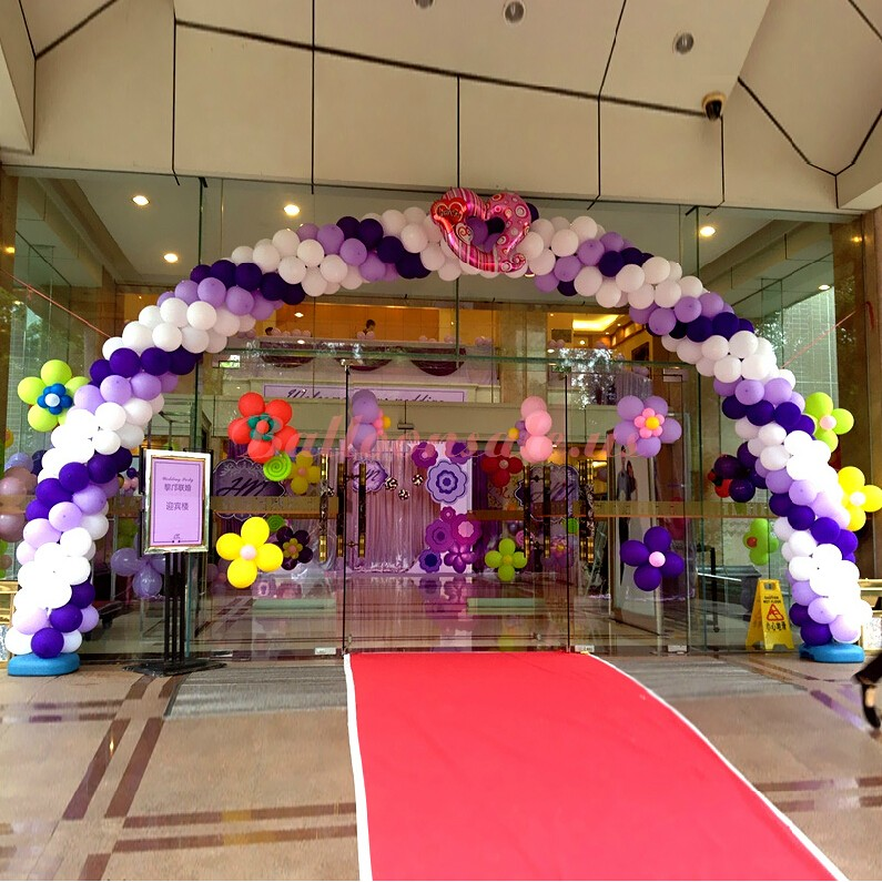 Buy Trade Promotion Balloon Arch Frame Kit 11 ft * 15 ft for sale on ...