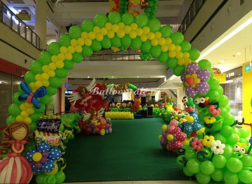 Buy latex balloon arch kit for sale on for Balloon arch frame kit party balloons decoration